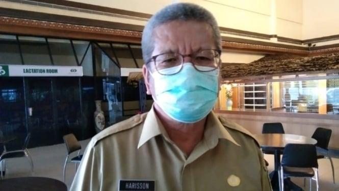 Kepala Dinas Kesehatan Provinsi Kalbar dr Harisson