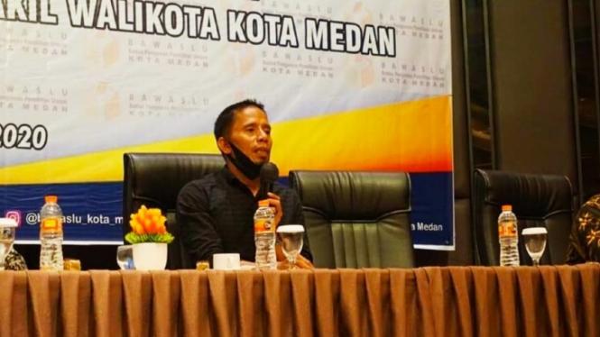 Anggota Bawaslu Kota Medan, Muh.Fadly.