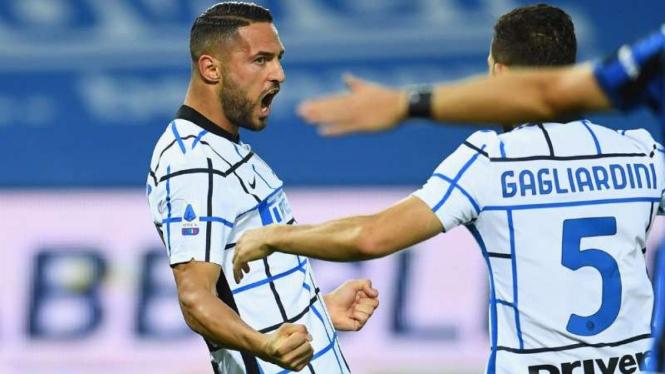 Bek Inter Milan, Danilo D'Ambrosio.