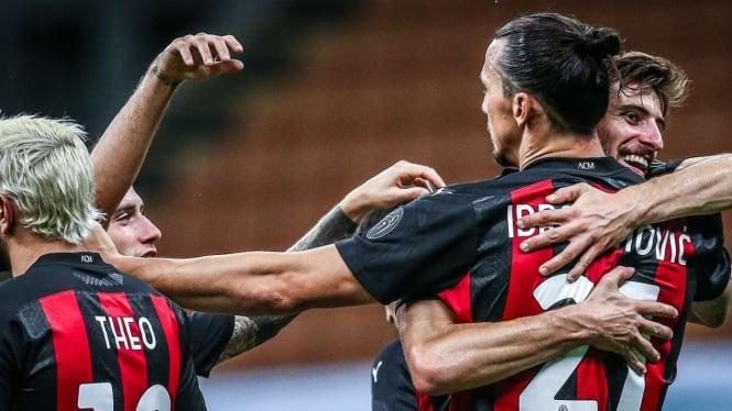 Fakta Mengerikan AC Milan dan Ibrahimovic Setelah Bantai Cagliari