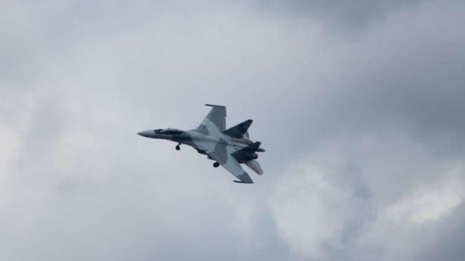 VIVA Militer: Sukhoi Su-35 yang dibeli Mesir dari Rusia.