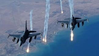 VIVA Militer: Ilustrasi Pesawat Tempur Luncurkan Serangan Rudal