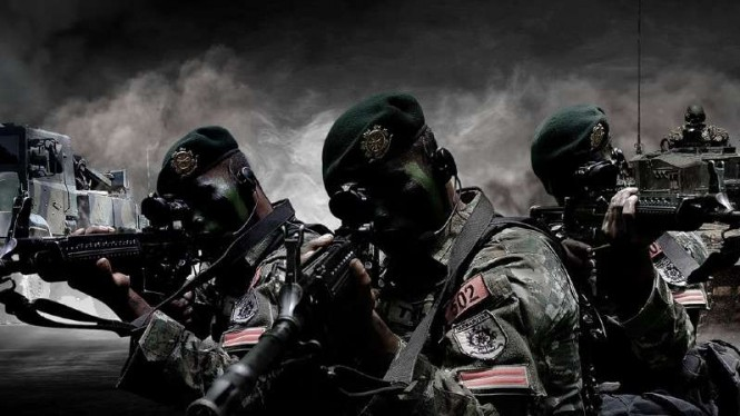 VIVA Militer: Prajurit Kostrad TNI.