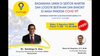 INDONESIA MARITIME CLUB DISCUSSION SERIES #14.