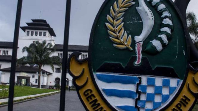 Gedung Sate, Kota Bandung ditutup sementara
