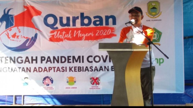 Qurban untuk Negeri 2020 dari Bakrie Amanah.
