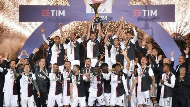 Juventus Scudetto Lagi tapi Miris