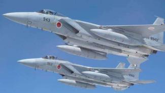 VIVA Militer: Jet tempur F-15J Angkatan Udara Jepang