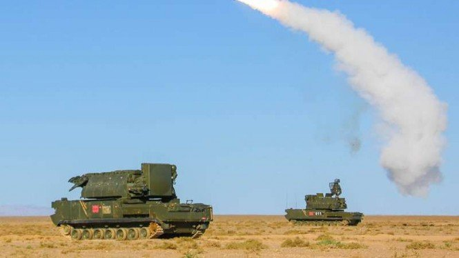 VIVA Militer: Sistem rudal anti-pesawat Tor Tentara Pembebasan Rakyat China