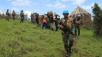 VIVA Militer: Satgas TNI Konga XXXIX B RDB Monusco