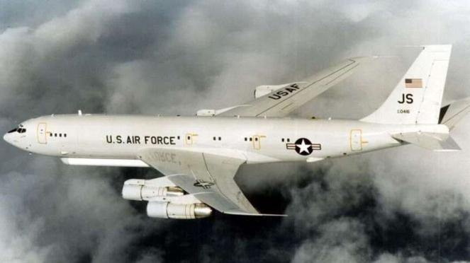 VIVA Militer: Pesawat intai E-8C STARS Angkatan Udara Amerika Serikat