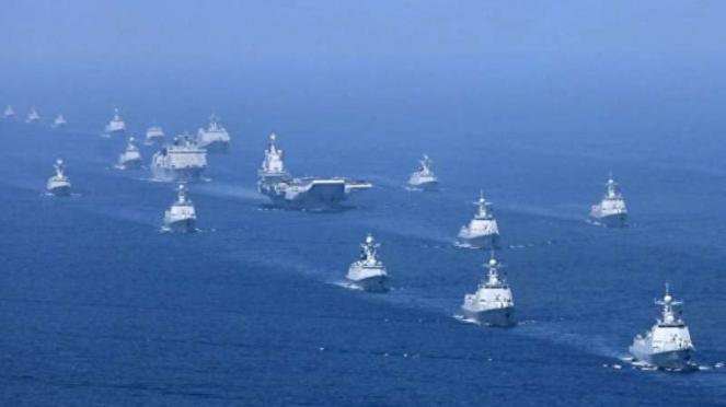 VIVA Militer: Armada tempur Angkatan Laut Tentara Pembebasan Rakyat China