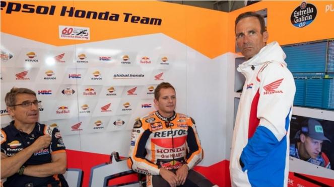 Pembalap uji coba Repsol Honda, Stefan Bradl