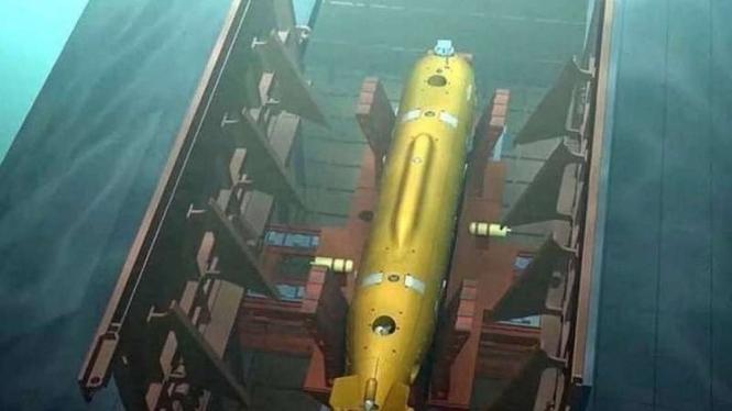 VIVA Militer : Rudal Poseidon 'Monster Nuklir' Rusia