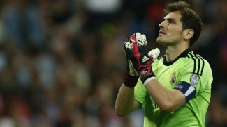 Kiper legendaris Real Madrid, Iker Casillas.