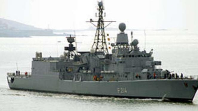 VIVA Militer: Kapal perang Jerman, Frigate Lubeck F214.