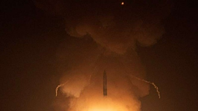 VIVA Militer: Uji coba rudal balistik antar benua Minuteman III Amerika Serikat