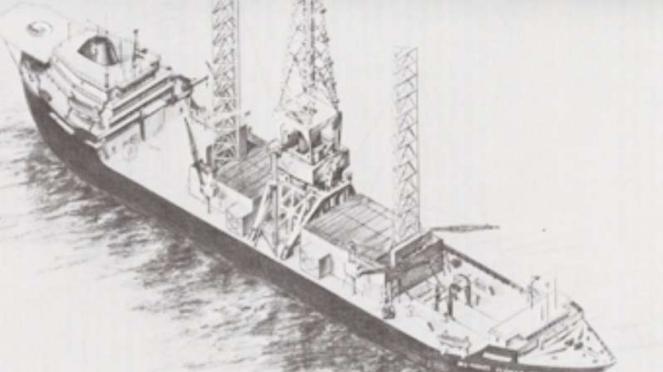 VIVA Militer: MV Hughes Glomar Explorer.