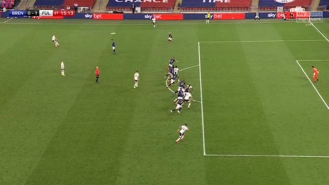 Gol ajaib di laga Brentford Vs Fulham