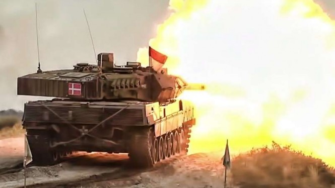 VIVA Militer: Tank Leopard 2