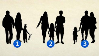 Tes psikologi siluet keluarga.