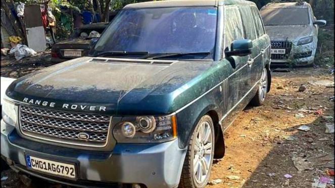 Range Rover tak bertuan di India