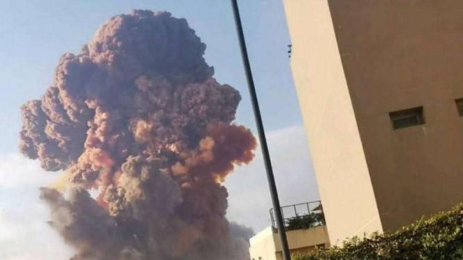 VIVA Militer: Ledakan di Beirut ibukota Lebanon