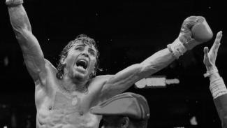 Mantan juara tinju dunia, Edwin Valero.