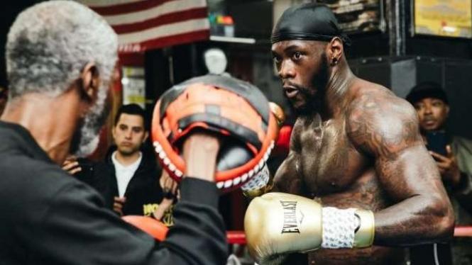 Mantan juara dunia kelas berat WBC, Deontay Wilder