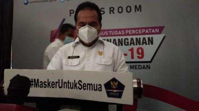 Kepala Dinas Kesehatan Kota Medan, Edwin Effendi.