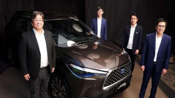 Peluncuran mobil baru Toyota Corolla Cross di Indonesia
