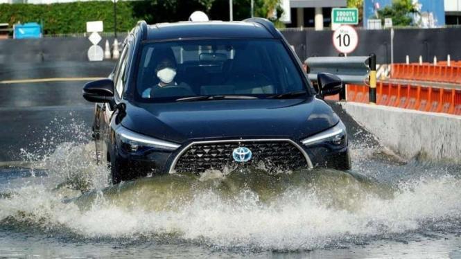 Toyota Corolla Cross saat diuji coba