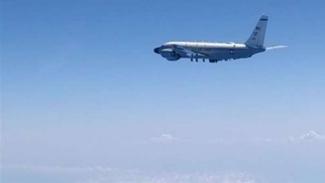 VIVA Militer: Pesawat Strategic RC-135 militer Amerika.