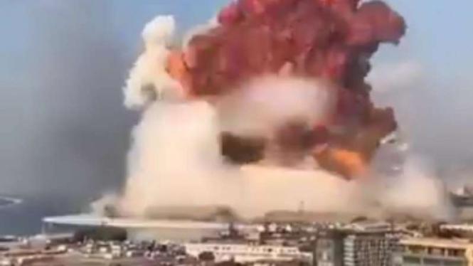 VIVA Militer: Ledakan besar.