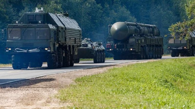 VIVA Militer: Armada rudal nuklir militer Rusia.