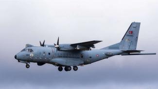 VIVA Militer: Pesawat CN235-220 Milik Militer Angkatan Udara Turkey