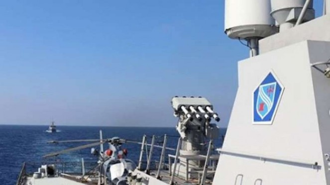 VIVA Militer : Kapal Perang KRI Sultan Hasanuddin-366