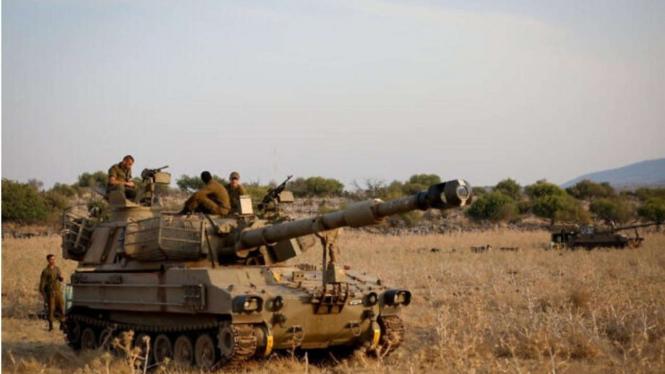 VIVA Milier: Tentara Israel IDF Siaga Disepanjang Perbatasan Lebanon