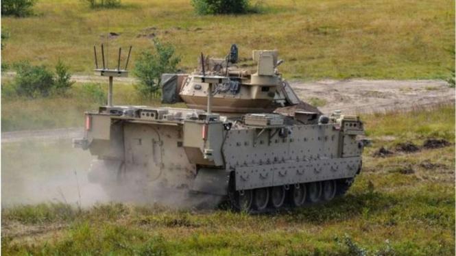 VIVA Militer: Kendaraan Tempur Robotik Angkatan Darat Amerika