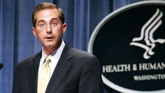 VIVA Militer: Menteri Kesehatan Amerika Serikat (AS), Alez Azar