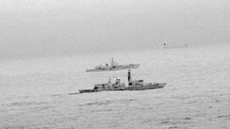 VIVA Militer: Kapal perang Rusia tertangkap kamera di utara wilayah laut Inggris