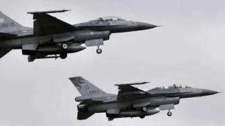 VIVA Militer: Dua unit jet tempur F-16 Angkatan Udara Taiwan (ROCAF)