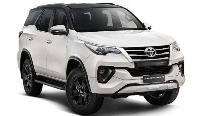 Toyota Fortuner TRD versi India