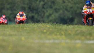 Ilustrasi balapan MotoGP.