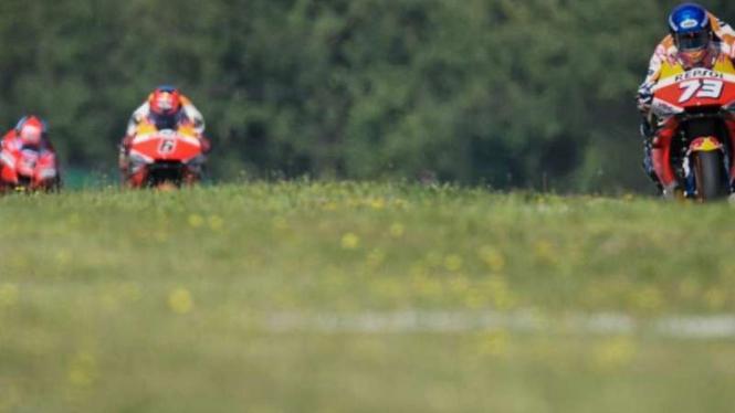 Ilustrasi MotoGP 2020.