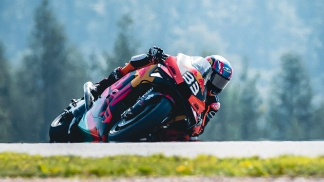 Pembalap Red Bull KTM, Brad Binder