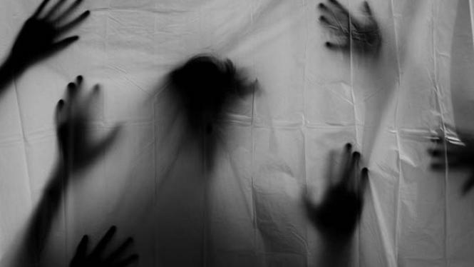 Ilustrasi ketakutan