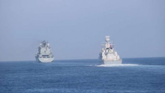 VIVA Militer: Kapal perang Turki menuju Laut Mediterania.