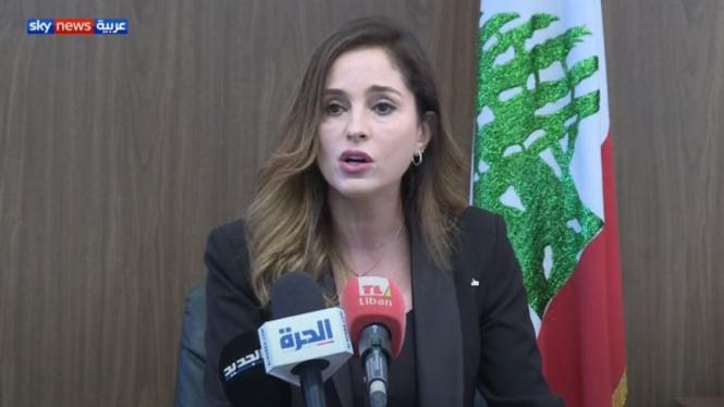 Menteri Penerangan Lebanon, Manal Abdel Samad mundur dari jabatannya