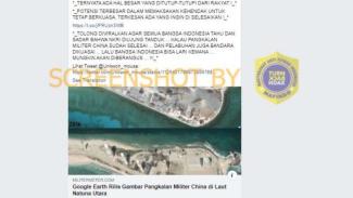 Beredar foto pangkalan militer China di Natuna